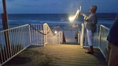 2016 beach sparklers