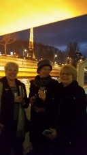 Champagne on the Seine.