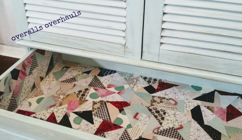 oo patchwork armoire drawer
